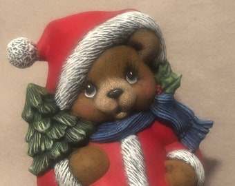 Cermic Christmas Bear