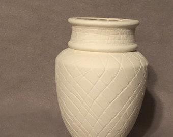 Vases in Ceramic Bisque