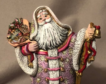 Old World Santa one of a kind painting