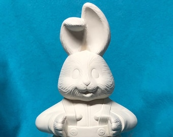 Bunny Bloomer Ceramic Bisque