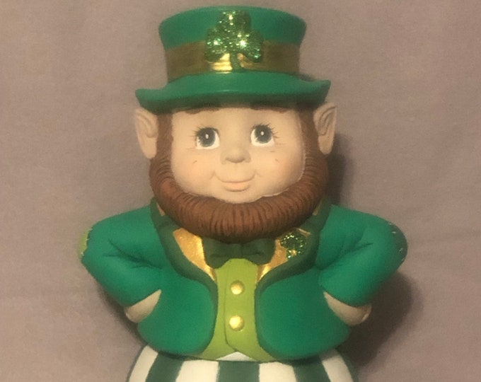 Leprechaun Bloomer Ceramic Art