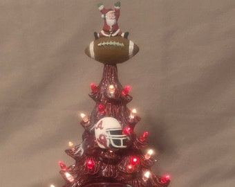 Roll Tide Alabama Football Christmas Tree