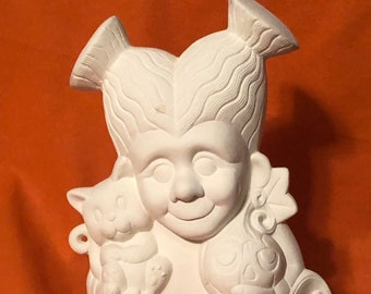 Frankie Jrs Sister Ceramic Bisque