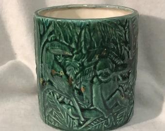 Koi Glazed Ceramic Jungle Vase