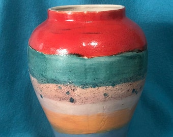 Glazed Decorative Ceramic Vase