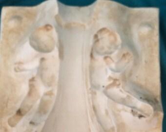 Cherub Vase Mold