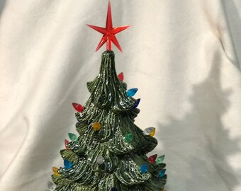 Glazed Ceramic Christmas Tree