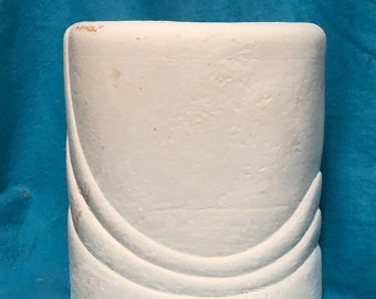 Vintage Ceramic Vase Bisque ready to paint