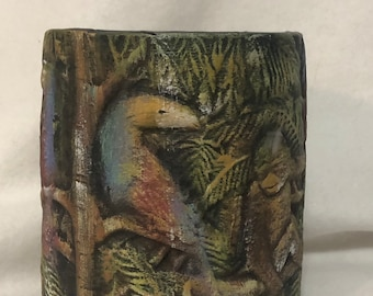 Ceramic Jungle Vase