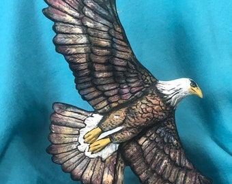 Indepence Eagle Ceramic Art