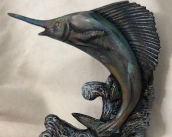 Swordfish Ceramic Art