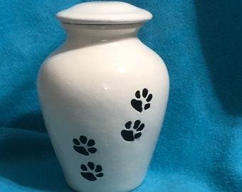 Glazed Ceramic Pet Urn Ceramic
