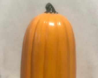 Glazed Ceramic Pumpkin