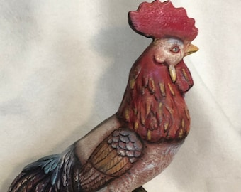 Rooster Ceramic Art