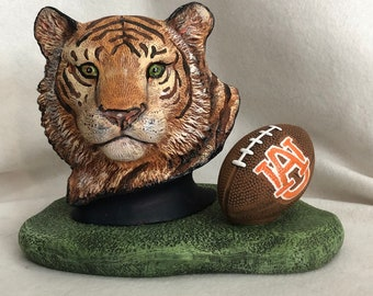 Auburn Tiger Ceramic Art