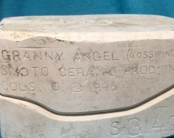 Granny Angel Mold by Scioto Ceramics