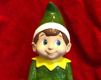Glazed Mayco Molds Vintage Elf by jmdceramicsart