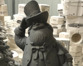 Rare Gare Ceramic USA Santa in bisque  ready to paint bisque pic coming soon