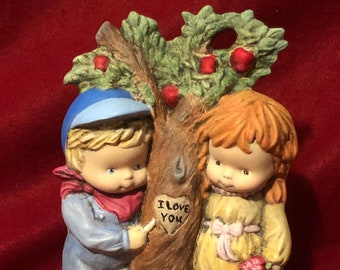 Ceramic Transluscent Sweetheart Tree