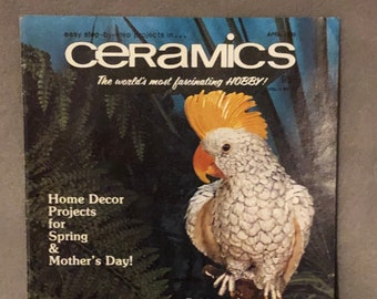 Vintage How to do Ceramics Guide from April 1999