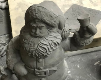 Rare Gare Santa 2000 in Ceramic Bisque ready to paint by jmdceramicsart