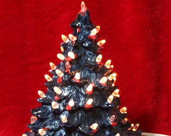 Small Glazed Christmas Tree
