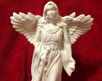 Rare Millenium Angel in ceramic bisque ready to paint