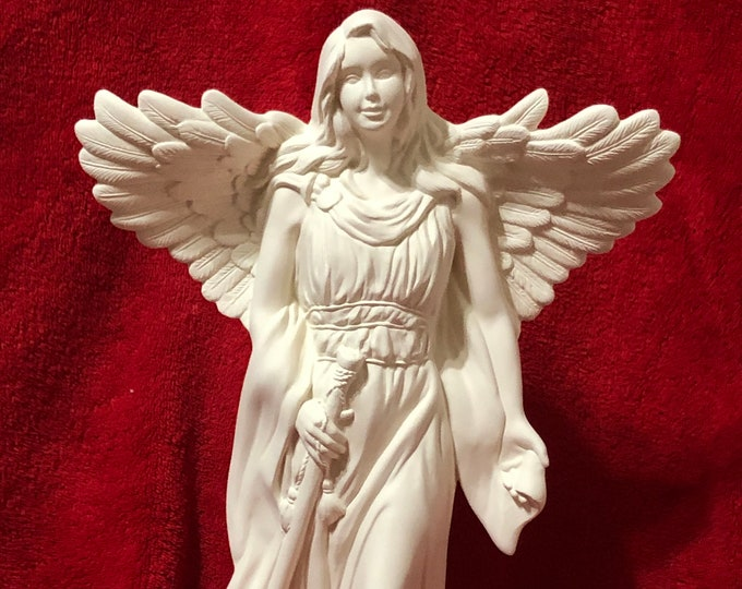 Featured listing image: Rare Millenium Angel in ceramic bisque ready to paint