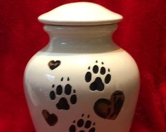 Glazed Custom Pet Urn