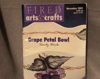 Vintage Fired Art Book from 2002