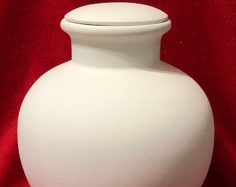 Very Rare Egyptian Water Jug in ceramic bisque ready to paint by jmdceramicsart
