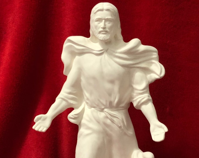 Featured listing image: Rare The Ascension in ceramic bisque ready to paint