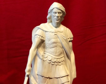 Archangel Michael in Ceramic Bisque ready to paint