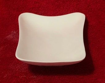 Rare Deco Tray in ceramic bisque ready to paint
