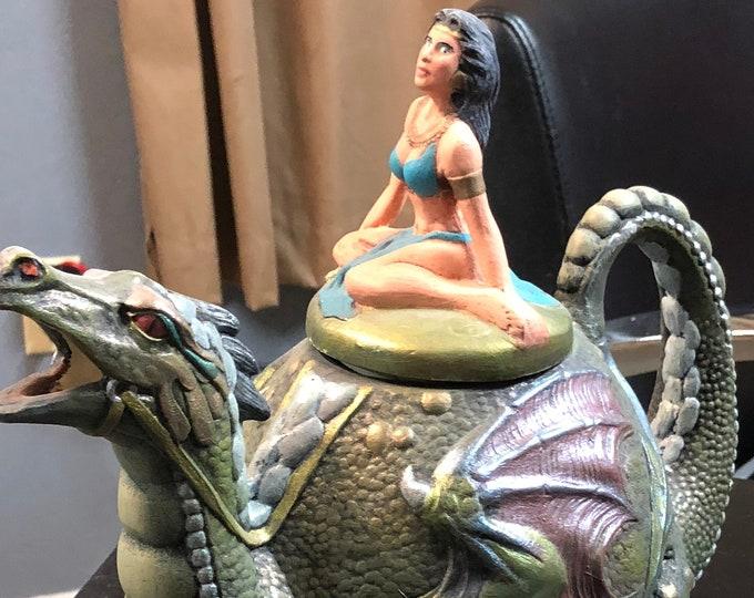 Dragon and Sorceress Bowl