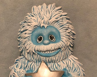 Dry Brushed Clay Magics Yeti using Mayco Softee Stains