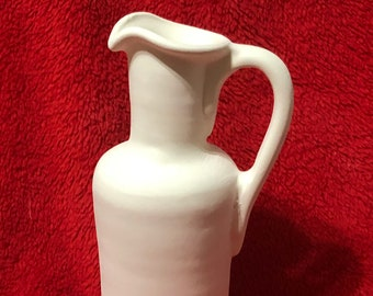 Very Rare Small Jug in ceramic bisqie ready to paint