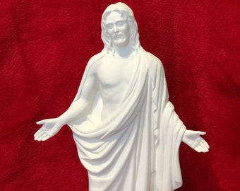 Jesus Christ in ceramic bisque ready to paint