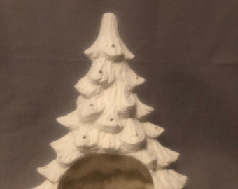 Nowell's Cut Out Ceramic Christmas tree Bisque ready to paint