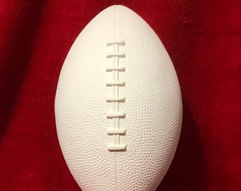 Ceramic Football Trophy with your favorite Team Mascot