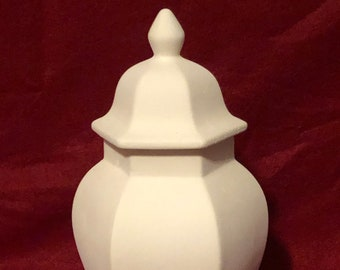 Ceramic Urn Bisque ready to paint