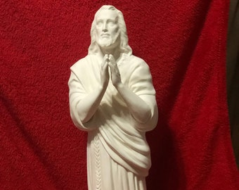 Jesus In ceramic bisque ready to paint