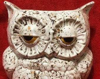 Yadro Glazed Owl Planter
