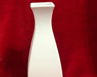 Rare Vintage Deco Vase in Ceramic Bisque ready to paint
