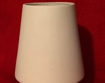 Vintage Candle Holder in ceramic bisque ready to paint