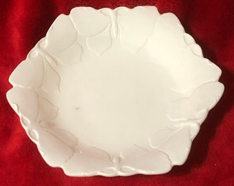 Rare Butterfly Bowl ceramic bisque ready to paint
