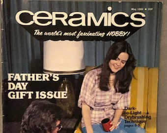 Vintage How to do Ceramics Guide May 1980