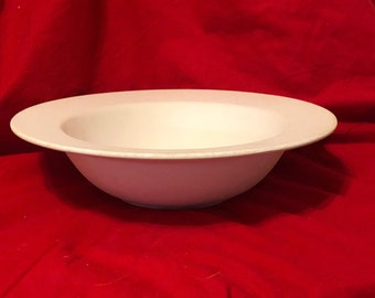 Rare and Vintage Fruit Bowl in ceramic bisque ready to paint