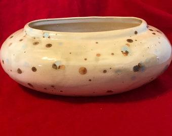 Glazed Rare Deco Bowl by jmdceramicsart