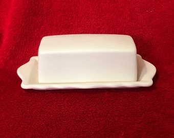 Rare Butter Dish is ceramic bisque ready to paint
